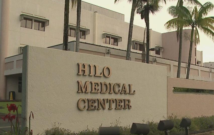 Franklin Poulsen in court today for stabbing at Hilo Medical Center