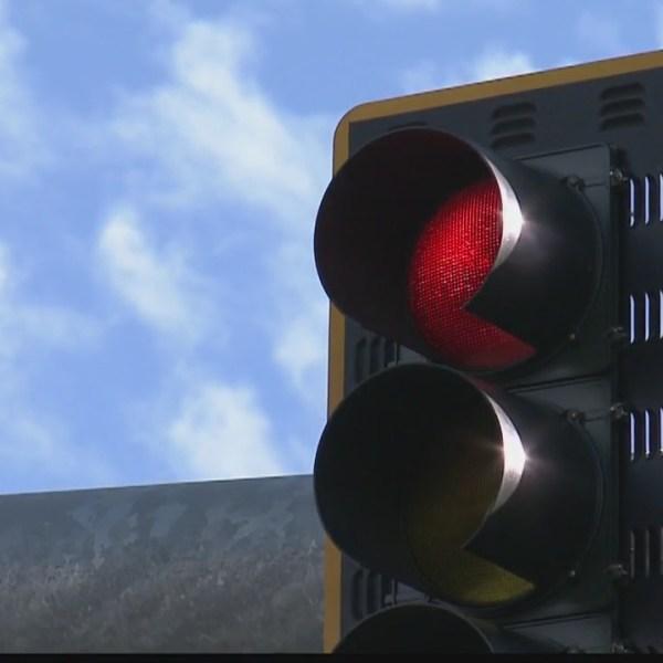 Red light camera bill rolling along