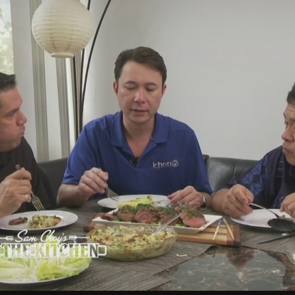 Sam Choy's in the Kitchen: Justin Cruz
