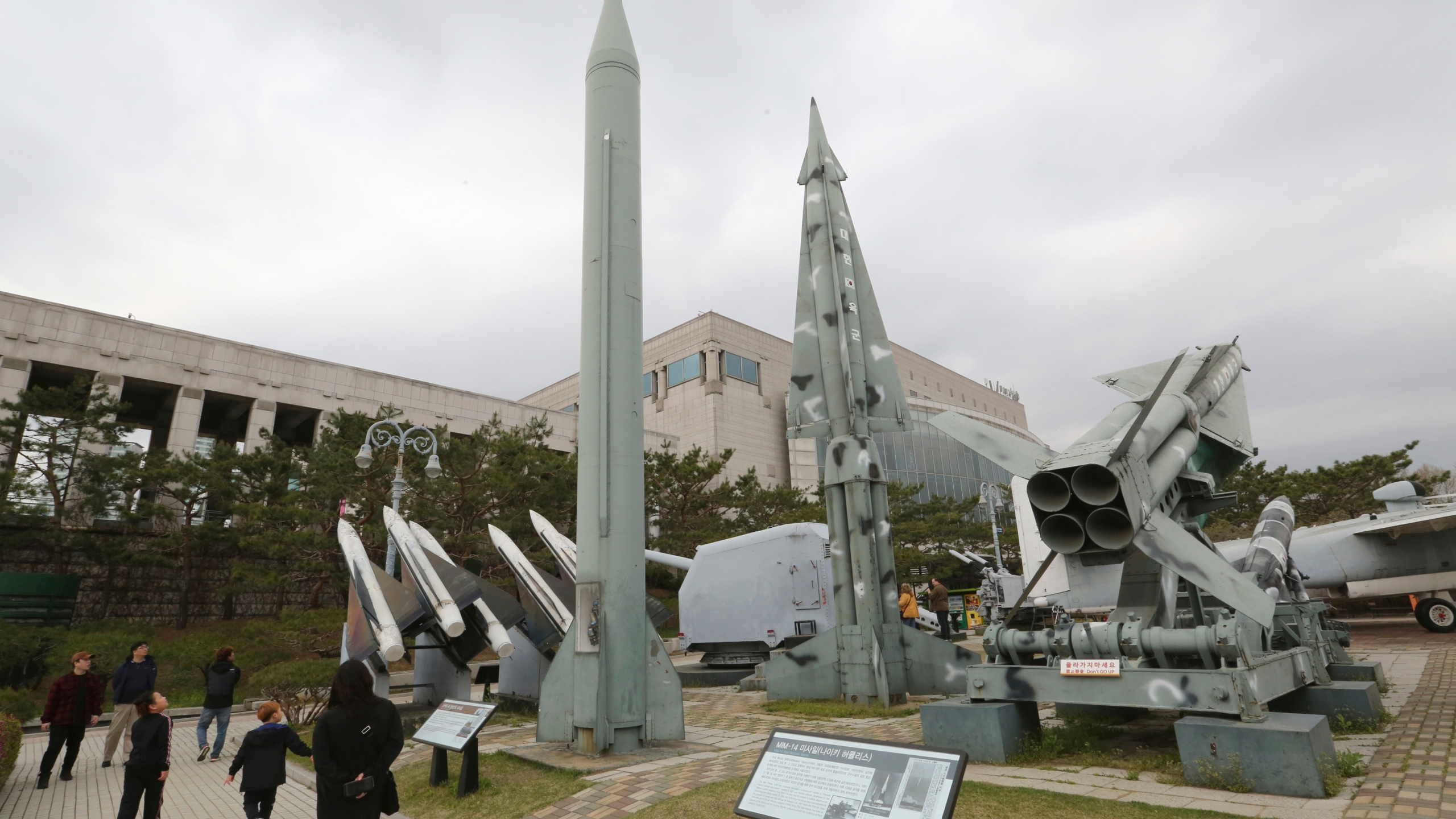 South Korea North Korea Weapons Test_1555574051225
