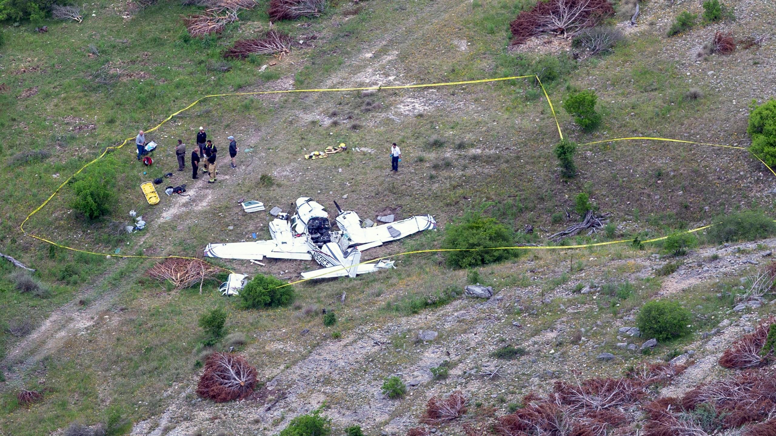 APTOPIX Texas Fatal Plane Crash_1556004233280