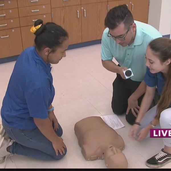 Class of 2019:Life saving skills at Kailua High school