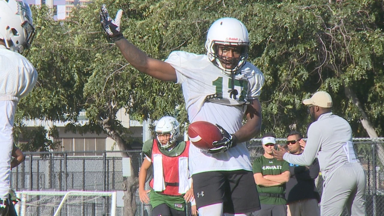 Former California standout Melquise Stovall ready to Run-N-Shoot with the 'Bows