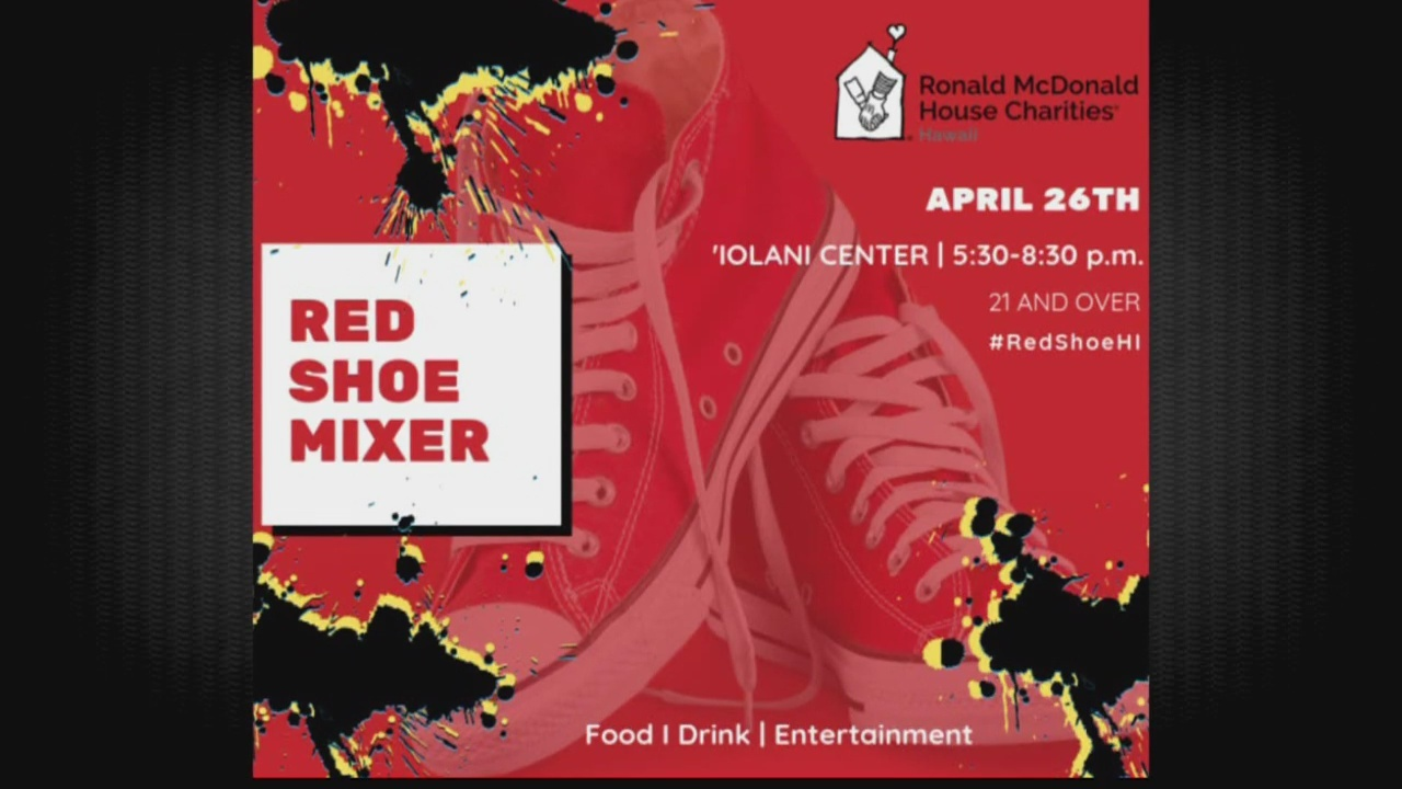 Red Shoe Mixer for Ronald McDonald House Charities