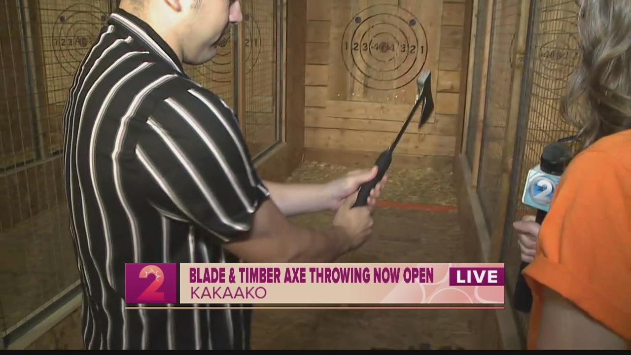 Take 2:Blade and Timber Axe Throwing