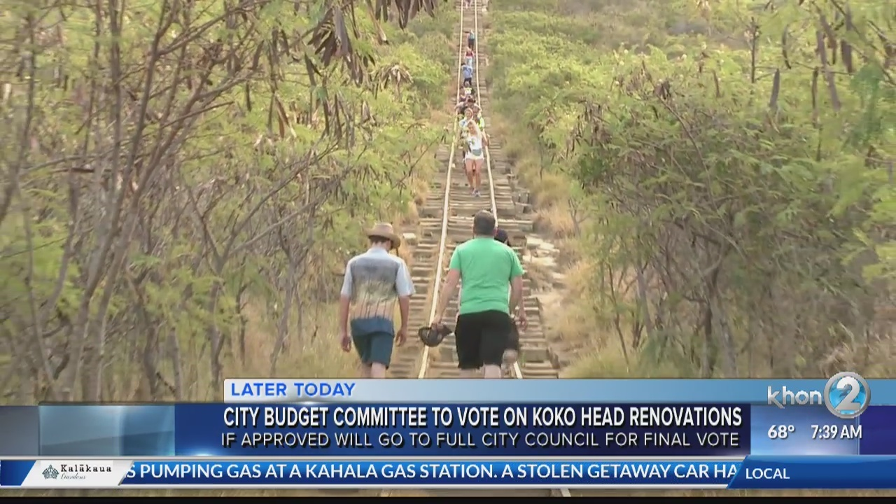 The possible funding to fix Koko Head Crater Trail hits City Coucil