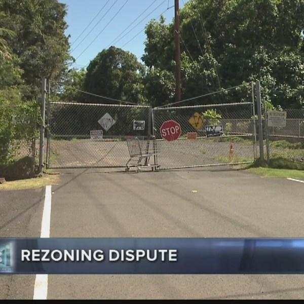 Always Investigating Rezoning dispute