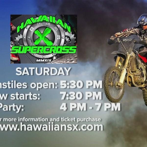Hawaiian Supercross hits Aloha Stadium this weekend