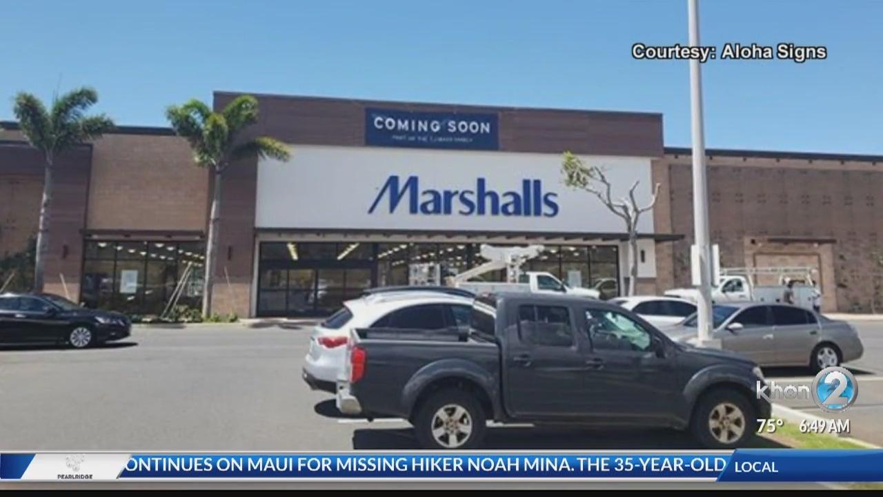 Marshalls to Open Kapolei Store on Thursday