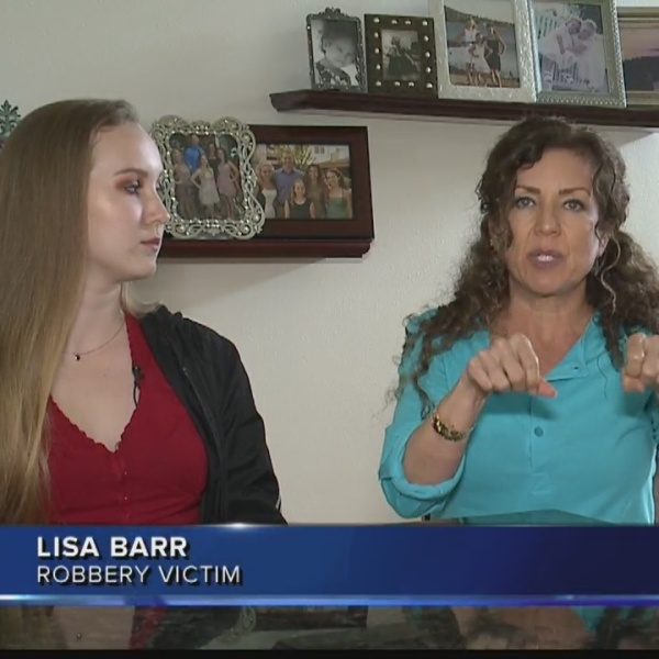 Mom and daughter traumatized from brazen robbery