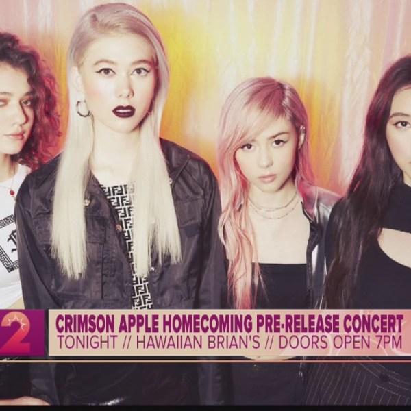 Take2:Pop-Alternative Band Crimson Apple Return for Homecoming Show