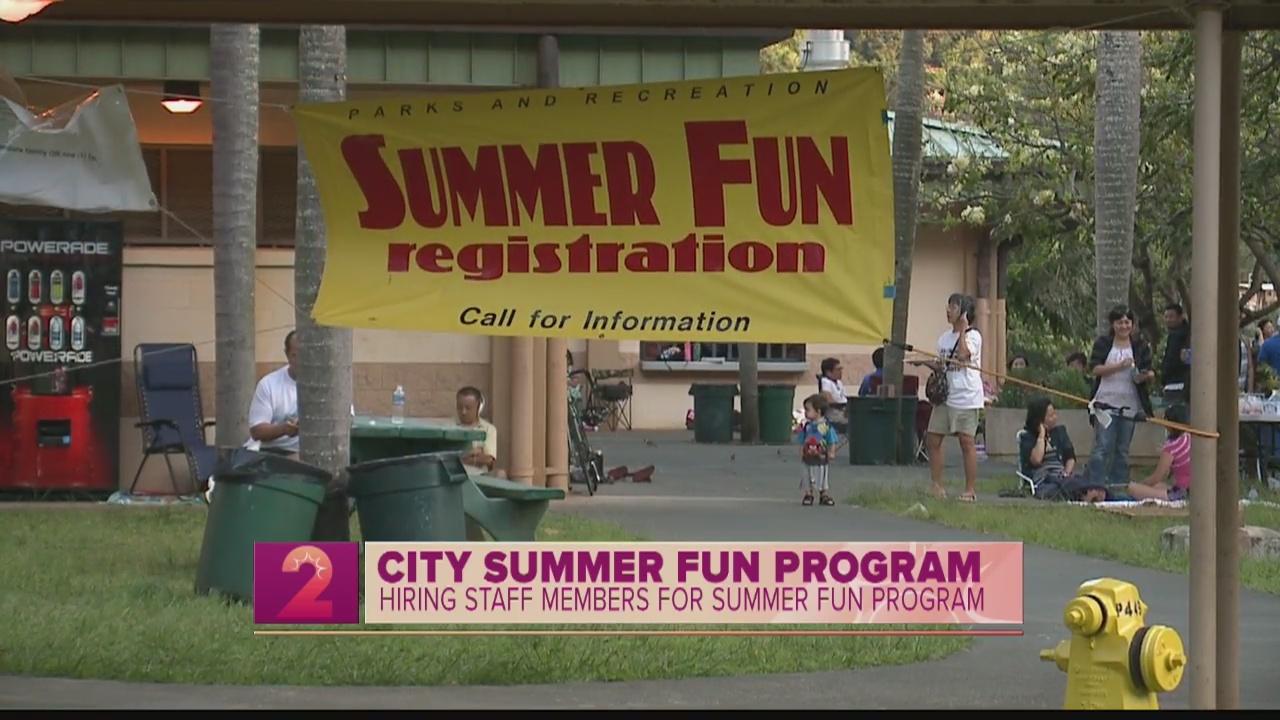 Take2:Summer Fun Program is hiring