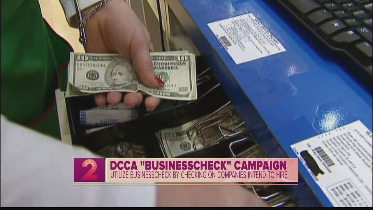 Take 2:State Launches Business Check Campaign to Protect Consumers