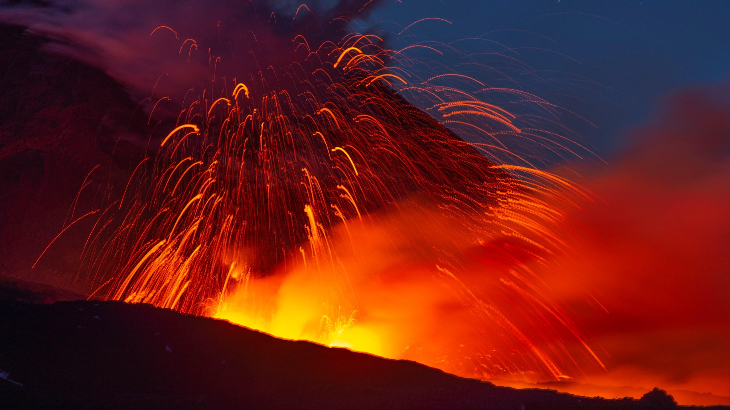 APTOPIX Italy Etna Volcano_1559435140280