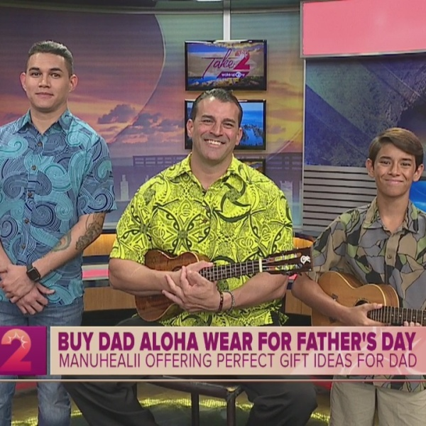 Aloha Wear for Father's Day