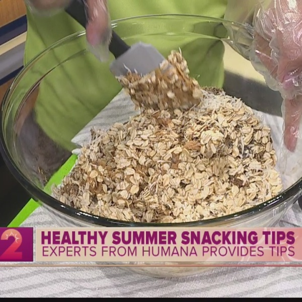 Healthy Summer Snack with Humana