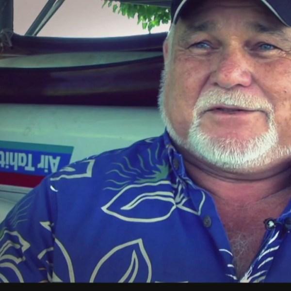 Master canoe builder Sonny Bradley