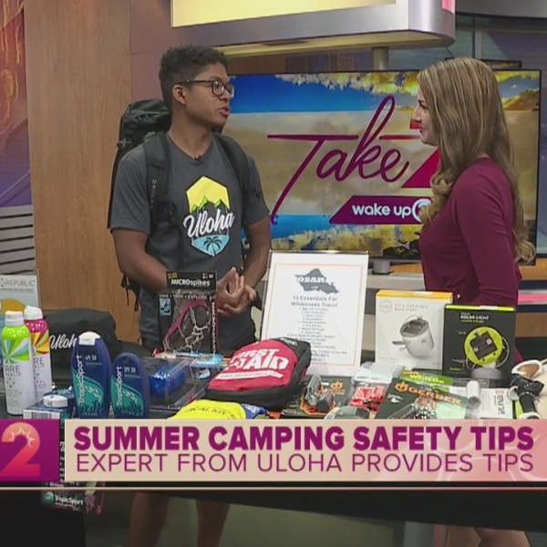 Summer Camping and Hiking Safety Tips