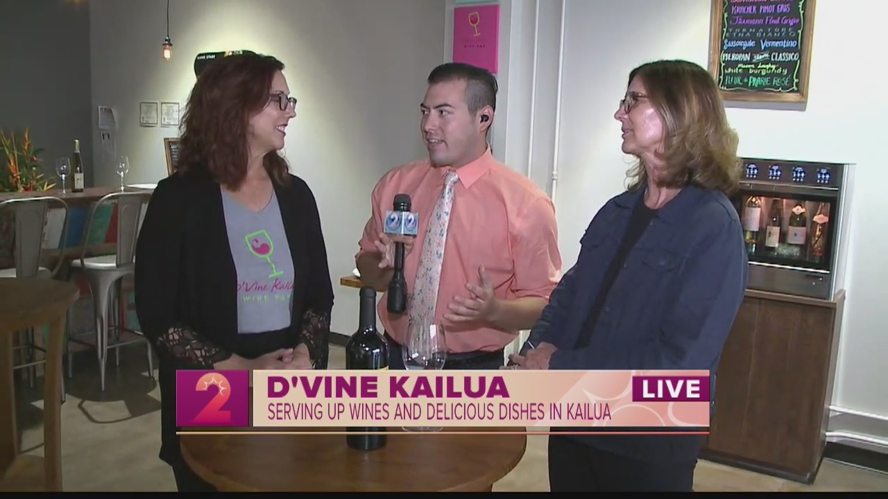 Take 2:D'Vine Wine Bar opens in Kailua