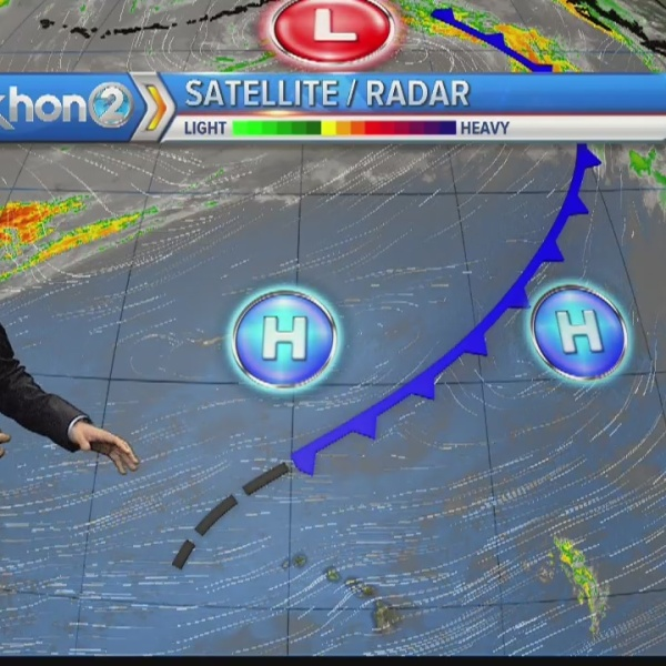 Trade winds and blue skies persist for Father's Day