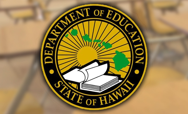 hawaii department of education hidoe doe logo with background