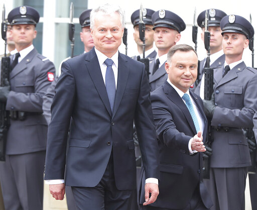 Andrzej Duda, Gitanas Naused