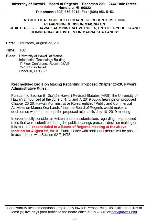 More Mauna Kea lawsuits