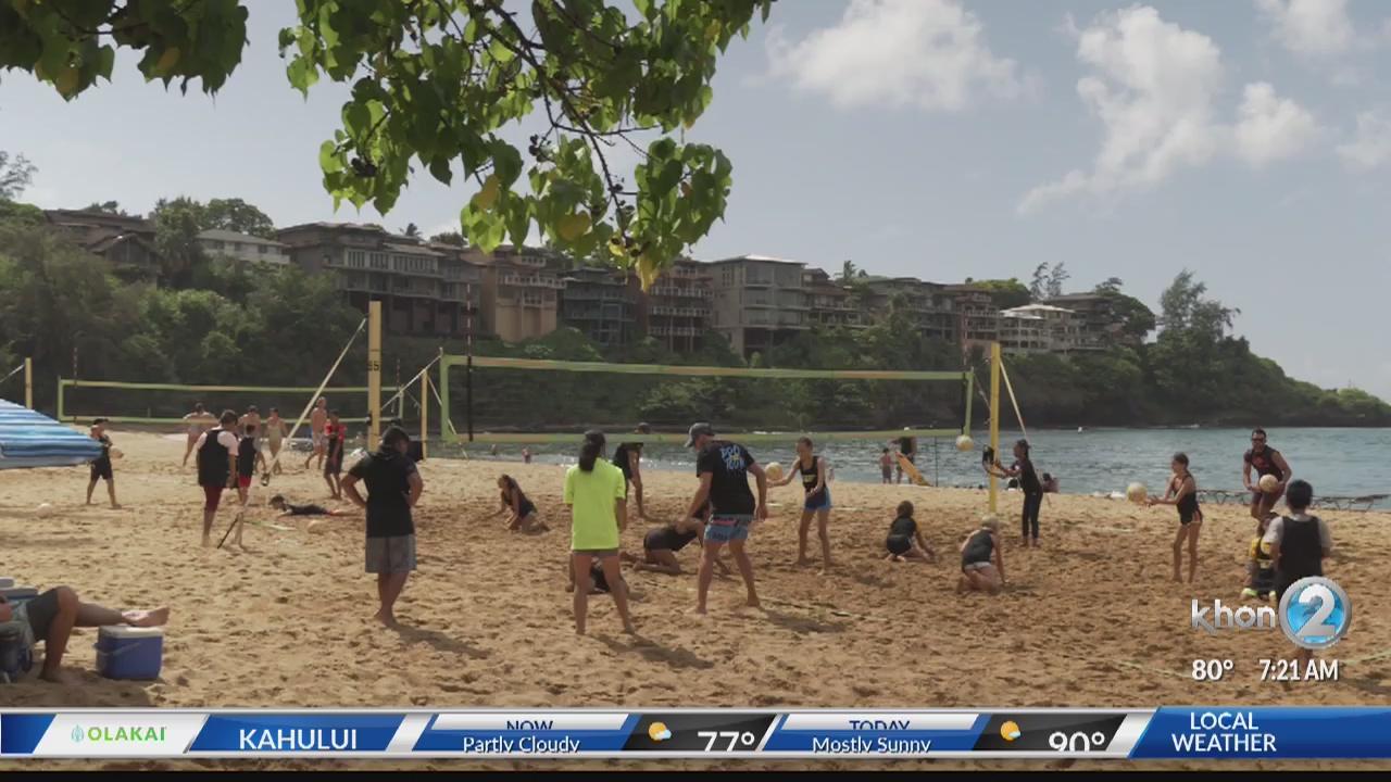 Avp First Free Volleyball Clinics Khon2