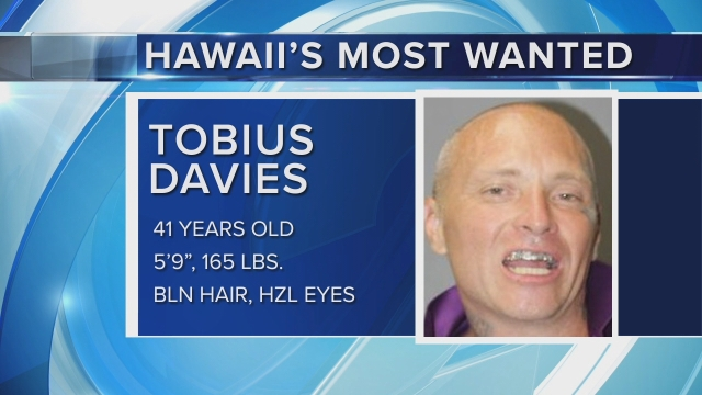 Hawaii's Most Wanted: Tobius Davies