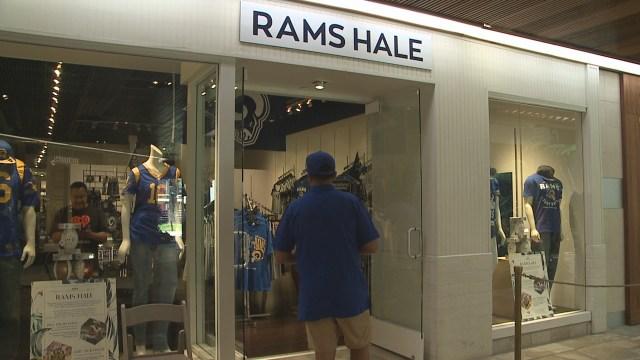 Rams Hale pop-up shop at Royal Hawaiian Center until Saturday