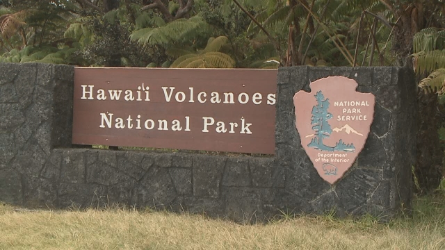 Steam vents parking lot closure Aug 29 for little fire ant treatment at Hawaii Volcanoes National Park