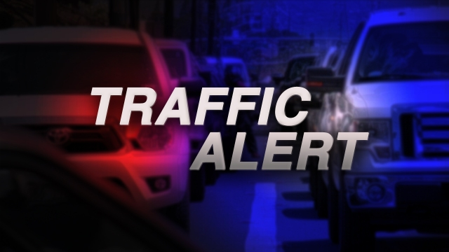 Kamehameha Highway closed in both directions by the Polynesian Cultural Center due to downed pole