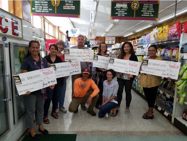Pukalani Superette raises money from customers, donates to local schools
