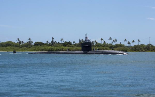 USS Olympia returns to Pearl Harbor after 7-month, around-the-world deployment