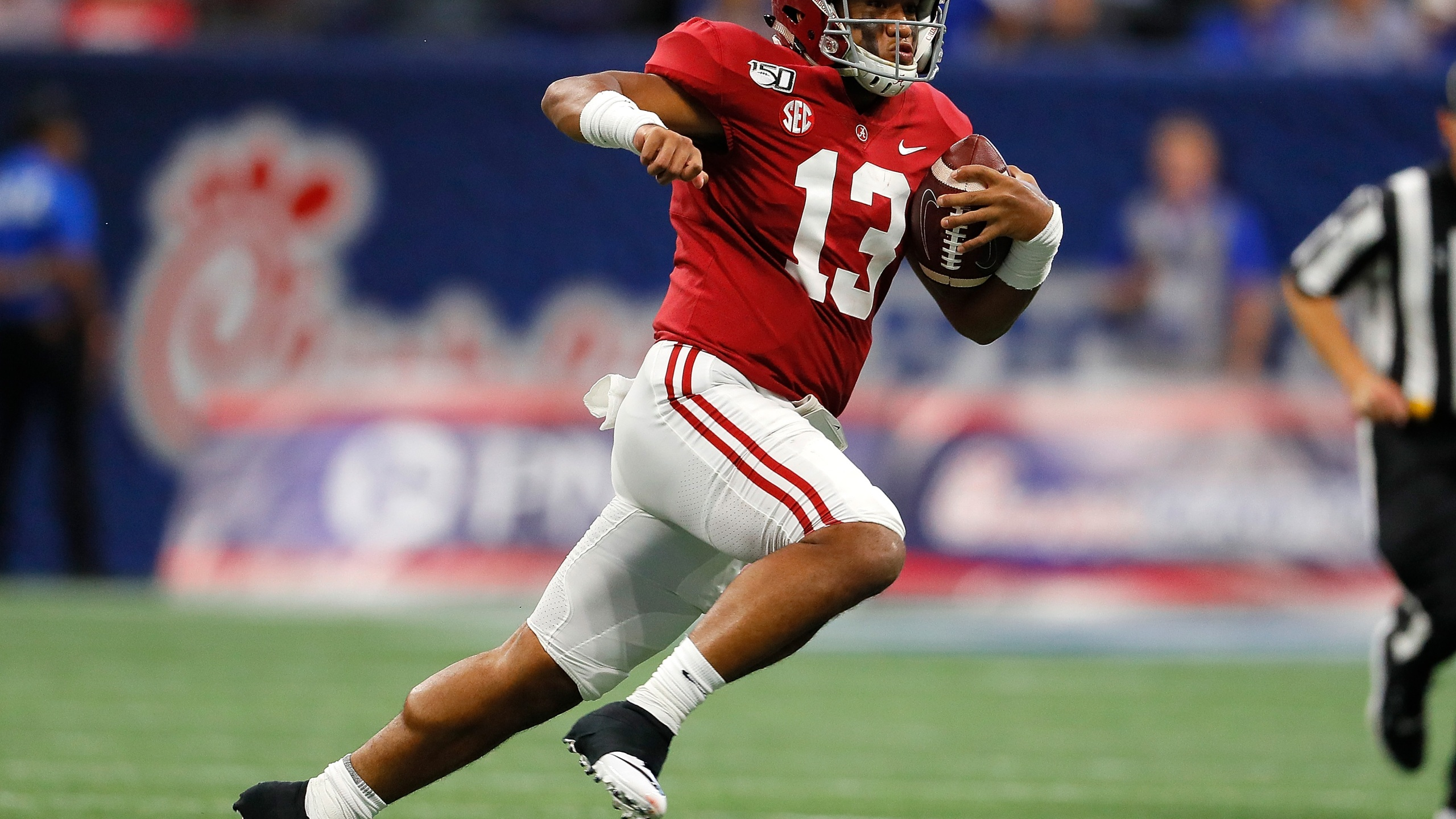 Saban says Tagovailoa 'works out like crazy', says he might