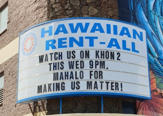 The man behind the sign: Hawaiian Rent-All's Nathan Oh talks to KHON2 on Business Matters