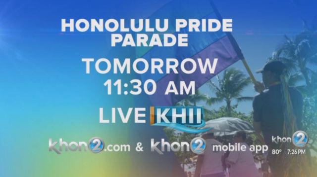 Honolulu Pride Parade bringing color down the streets of Waikīkī