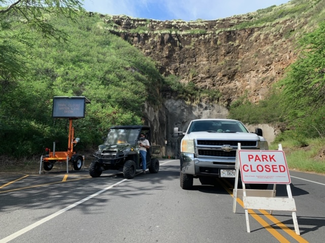 Diamond Head State Monument closed due to water main break