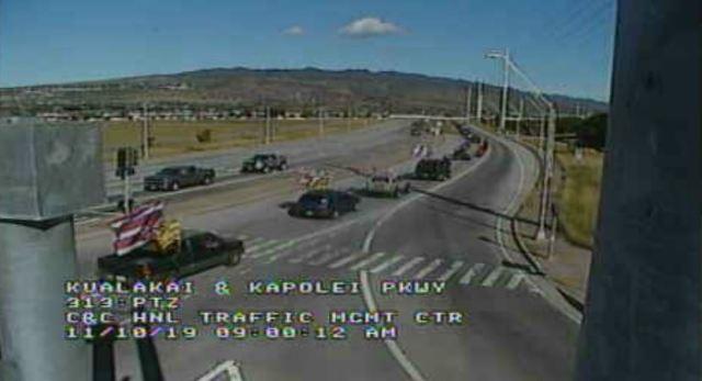 Convoy from Kapolei to Kualoa Regional Park held Sunday