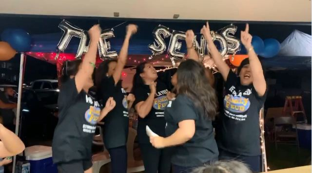 Seno family makes it to next step of Family Feud auditions