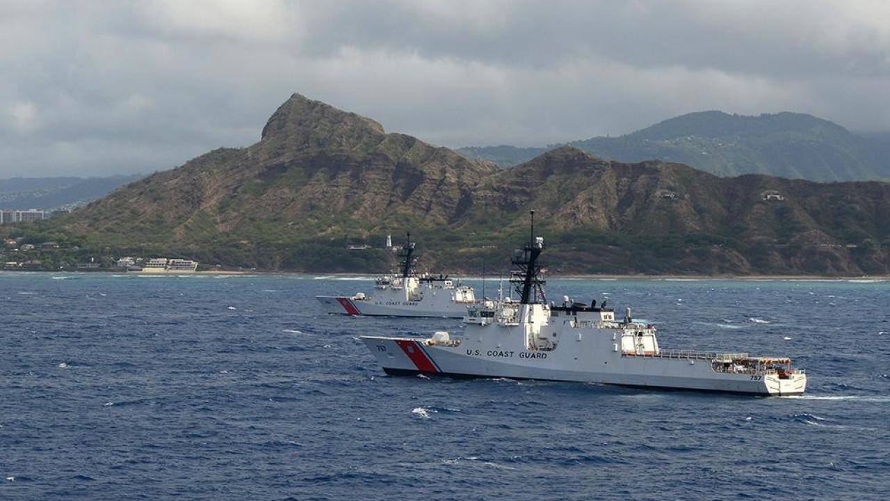 Us Coast Guard And Uh Form Partnership For Student Program