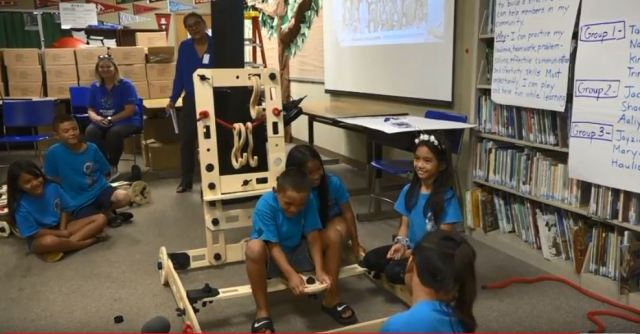 Kamaile Academy students get new play system to help them learn