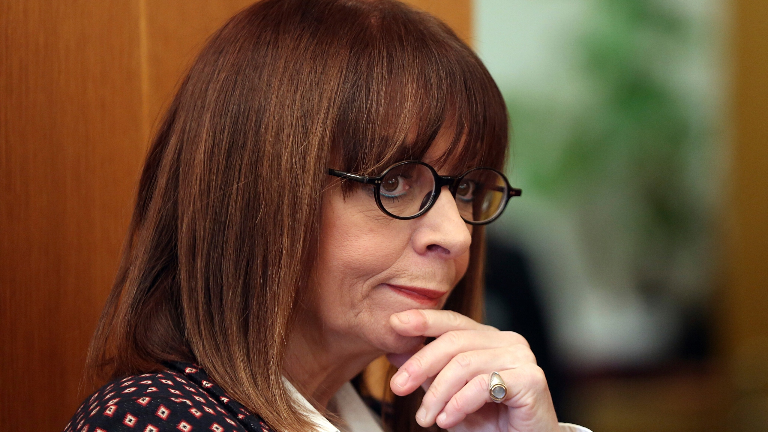 Katerina Sakellaropoulou was elected new President of the Greek Republic by the members of the Parliament