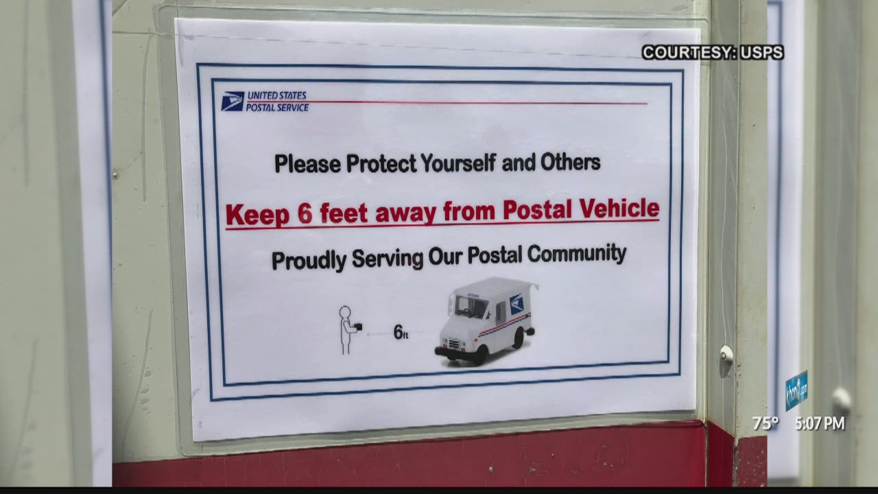 Usps Workers Changing Delivery Methods Amid Covid 19 Khon2