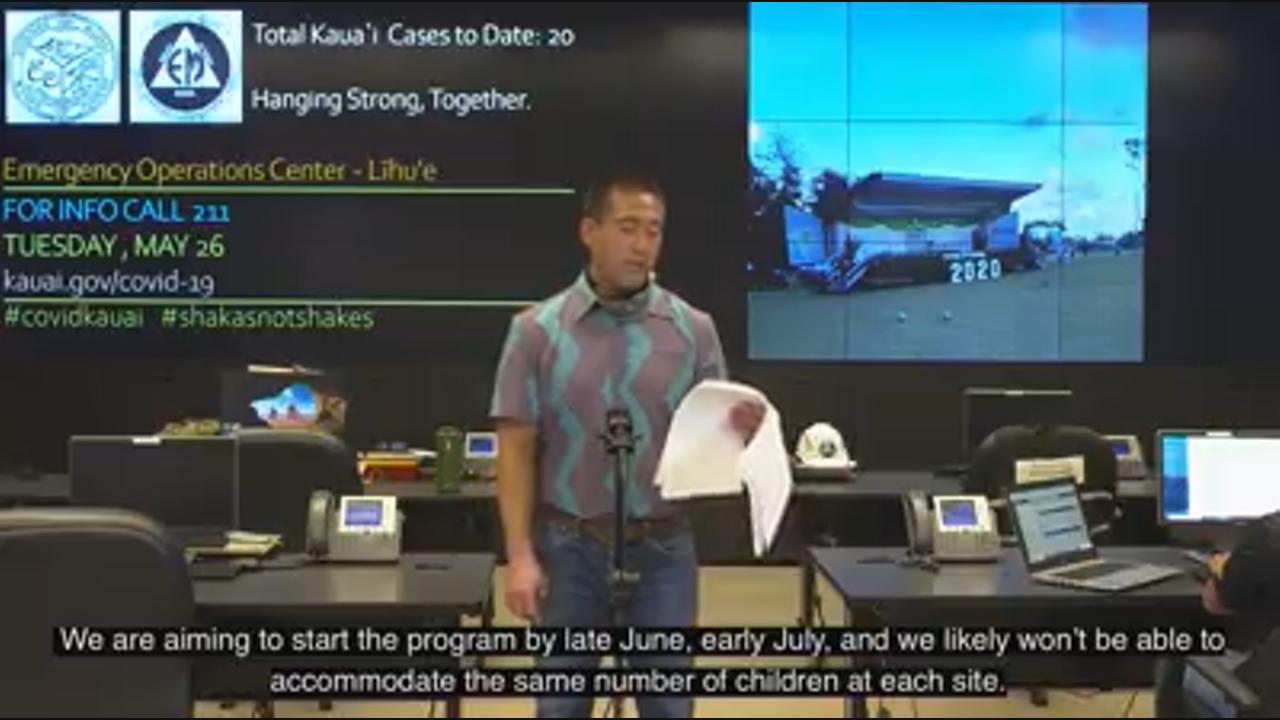 Kauai mayor working on summer fun details