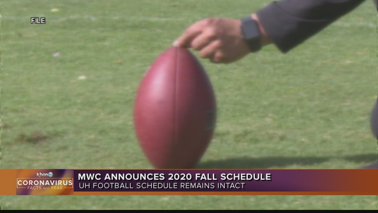 Mountain West revised schedule will not affect University of Hawaii football