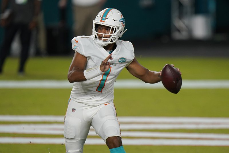 Tua Tagovailoa Makes Nfl Debut Completes Both Passes Late In Dolphins Win Over Jets Khon2