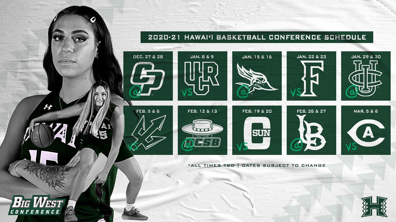 Big West Announces Women S Basketball Schedules Khon2
