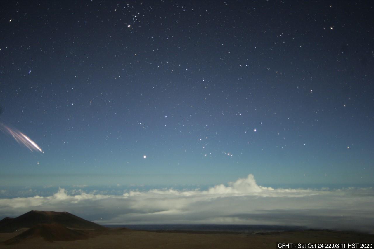 Hawaii scientists explain strange lights in the sky