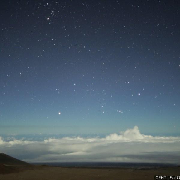 COURTESY: CANADA FRANCE HAWAII TELESCOPE